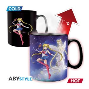 "Mug Thermo Réactif Sailor & Chibi ""Sailor Moon"""